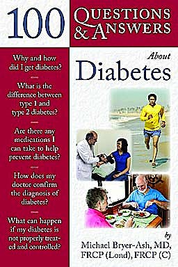 Portada del libro 9780763755393 100 Questions & Answers about Diabetes