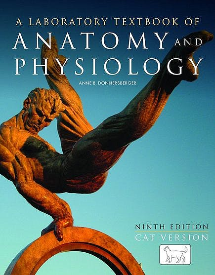 Portada del libro 9780763755508 A Laboratory Textbook of Anatomy and Physiology. Cat Version