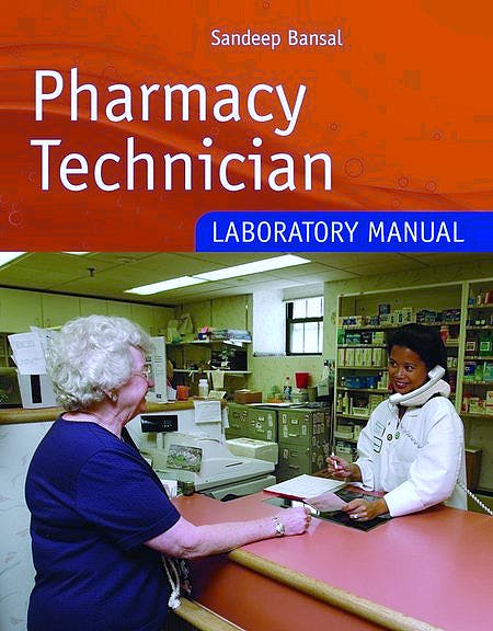 Portada del libro 9780763756604 Pharmacy Technician. Laboratory Manual