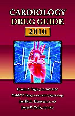 Portada del libro 9780763758073 Cardiology Drug Guide 2010