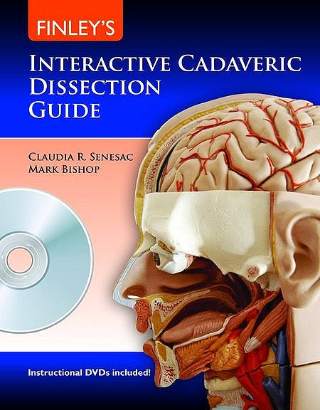 Portada del libro 9780763771249 Finley's Interactive Cadaveric Dissection Guide + Dvd