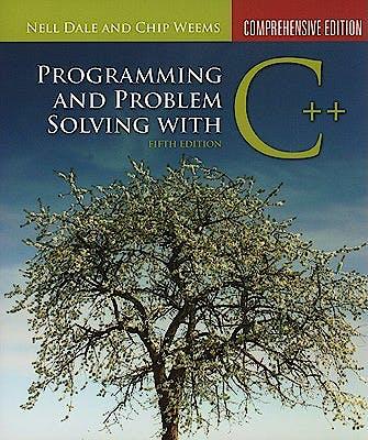 Portada del libro 9780763771560 Programming and Problem Solving with C++: Comprehensive Edition