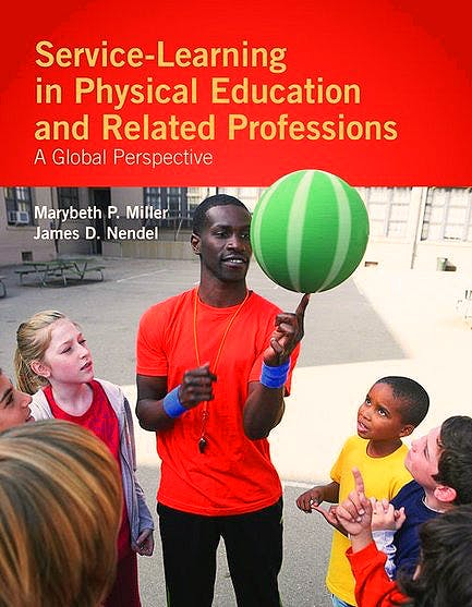 Portada del libro 9780763775063 Service-Learning in Physical Education and Other Related Professions. a Global Perspective