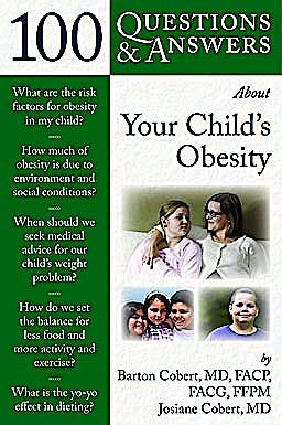 Portada del libro 9780763778323 100 Questions & Answers about Your Child's Obesity