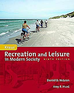 Portada del libro 9780763781590 Kraus' Recreation and Leisure in Modern Society