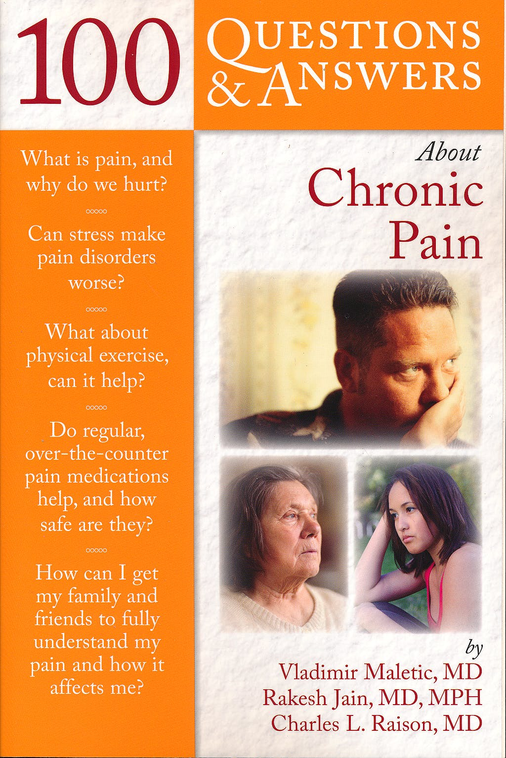 Portada del libro 9780763786045 100 Questions & Answers about Chronic Pain
