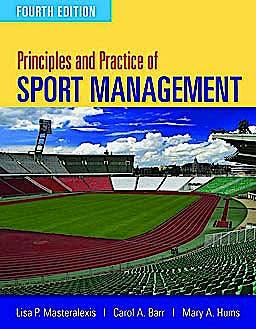 Portada del libro 9780763796075 Principles and Practice of Sport Management