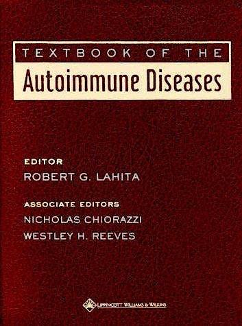 Portada del libro 9780781715058 Textbook of the Autoimmune Diseases
