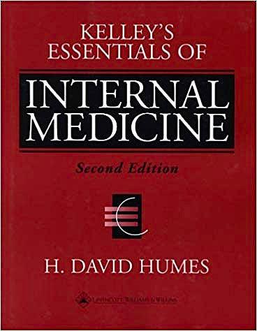 Portada del libro 9780781719377 Kelley's Essentials of Internal Medicine