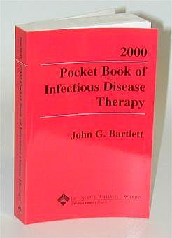 Portada del libro 9780781723411 Pocket Book of Infectious Disease Therapy 2000