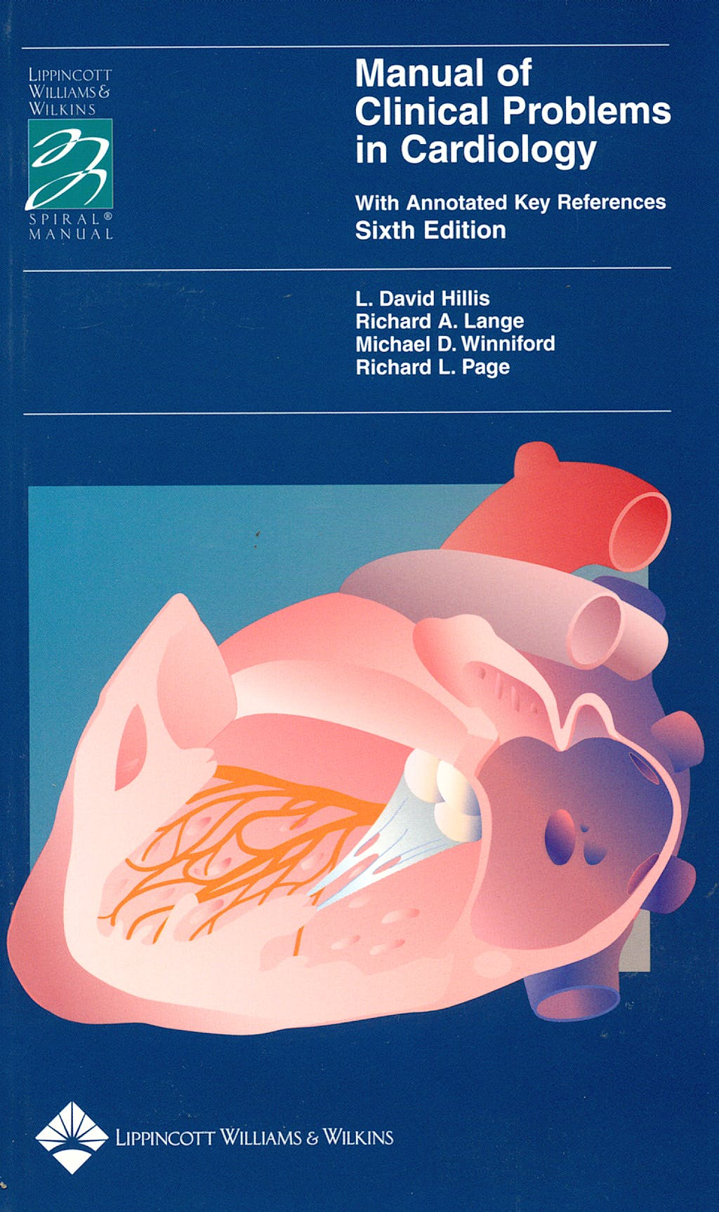Portada del libro 9780781723817 Manual of Clinical Problems in Cardiology