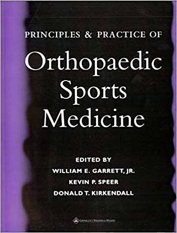 Portada del libro 9780781725781 Principles & Practice of Orthopaedic Sports Medicine