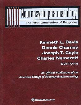 Portada del libro 9780781728379 Neuropsychopharmacology. the Fifth Generation of Progress