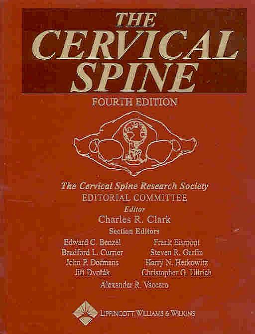 Portada del libro 9780781735766 The Cervical Spine