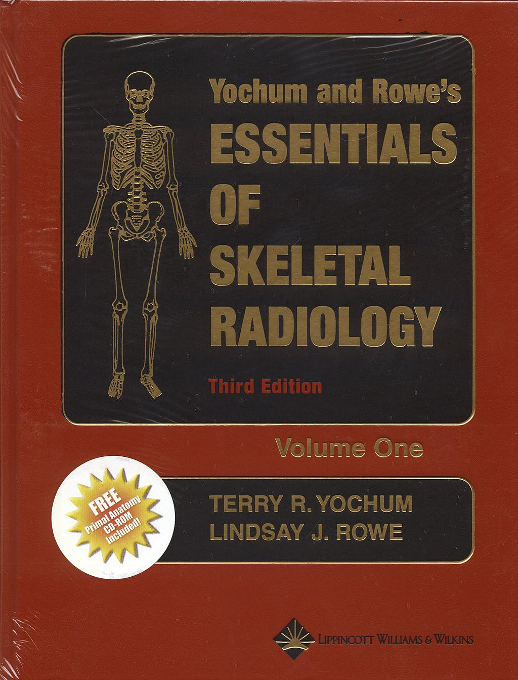 Portada del libro 9780781739467 Yochum and Rowe's Essentials of Skeletal Radiology, 2 Vols. + CD-ROM