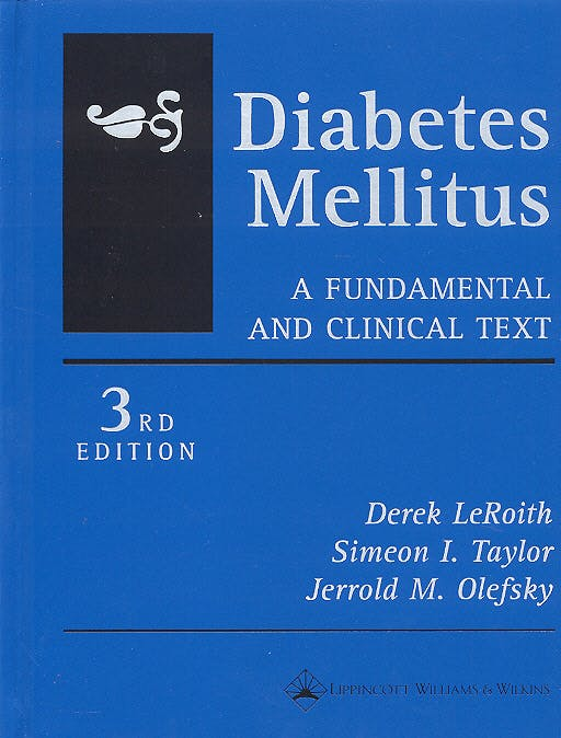 Portada del libro 9780781740975 Diabetes Mellitus