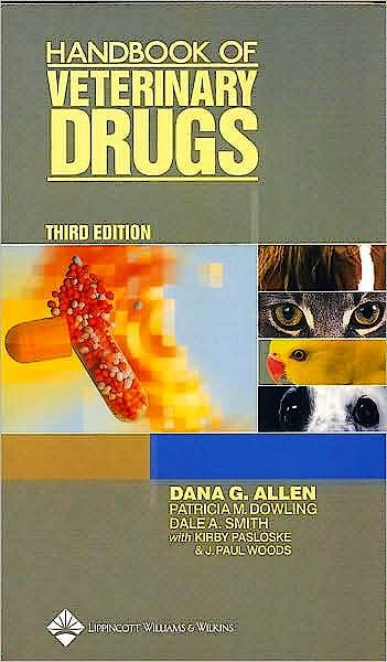 Portada del libro 9780781741262 Handbook of Veterinary Drugs
