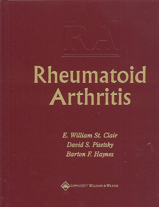 Portada del libro 9780781741491 Rheumatic Arthritis