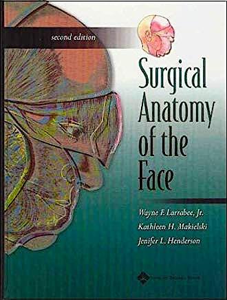 Portada del libro 9780781741507 Surgical Anatomy of the Face