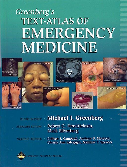 Portada del libro 9780781745864 Greenberg's Text-Atlas of Emergency Medicine