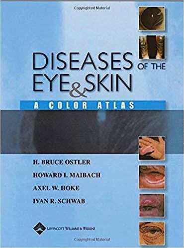 Portada del libro 9780781749992 Ostler's Diseases of Eye & Skin a Color Atlas