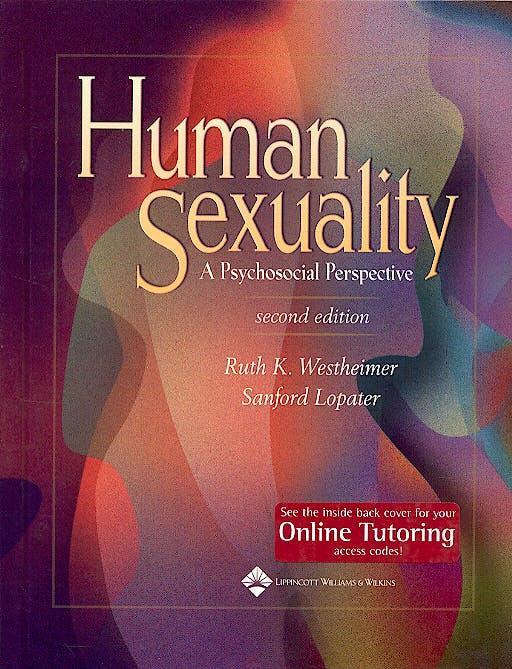 Portada del libro 9780781756822 Human Sexuality. a Psychosocial Perspective