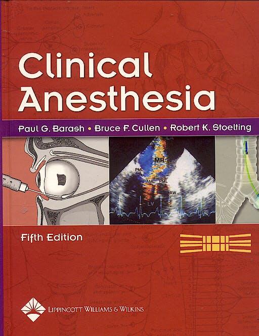 Portada del libro 9780781757454 Clinical Anesthesia