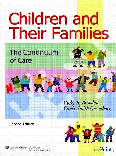 Portada del libro 9780781760720 Children and Their Families. the Continuum of Care