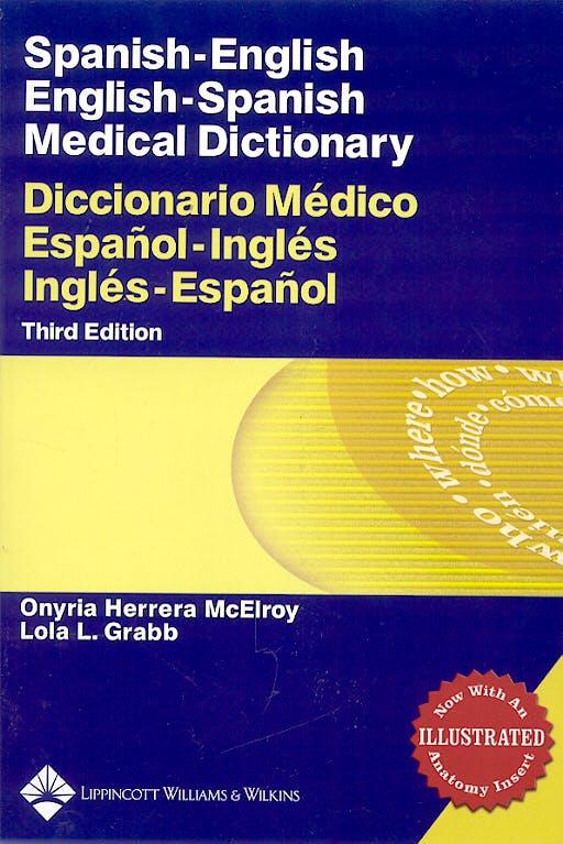 Portada del libro 9780781761703 Medical Dictionary. Spanish-English/english-Spanish