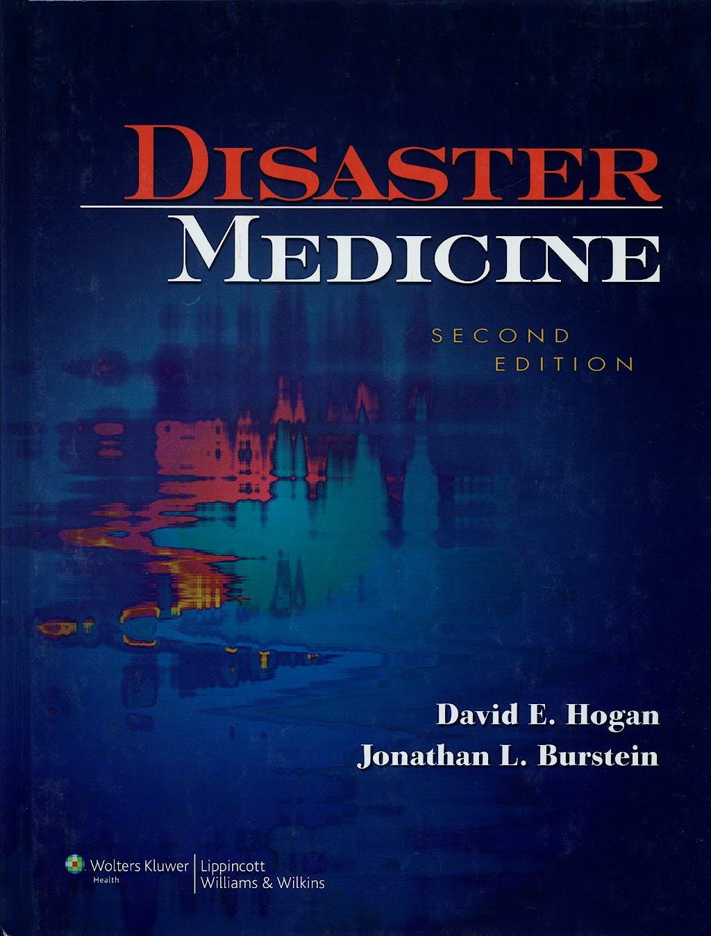 Portada del libro 9780781762625 Disaster Medicine