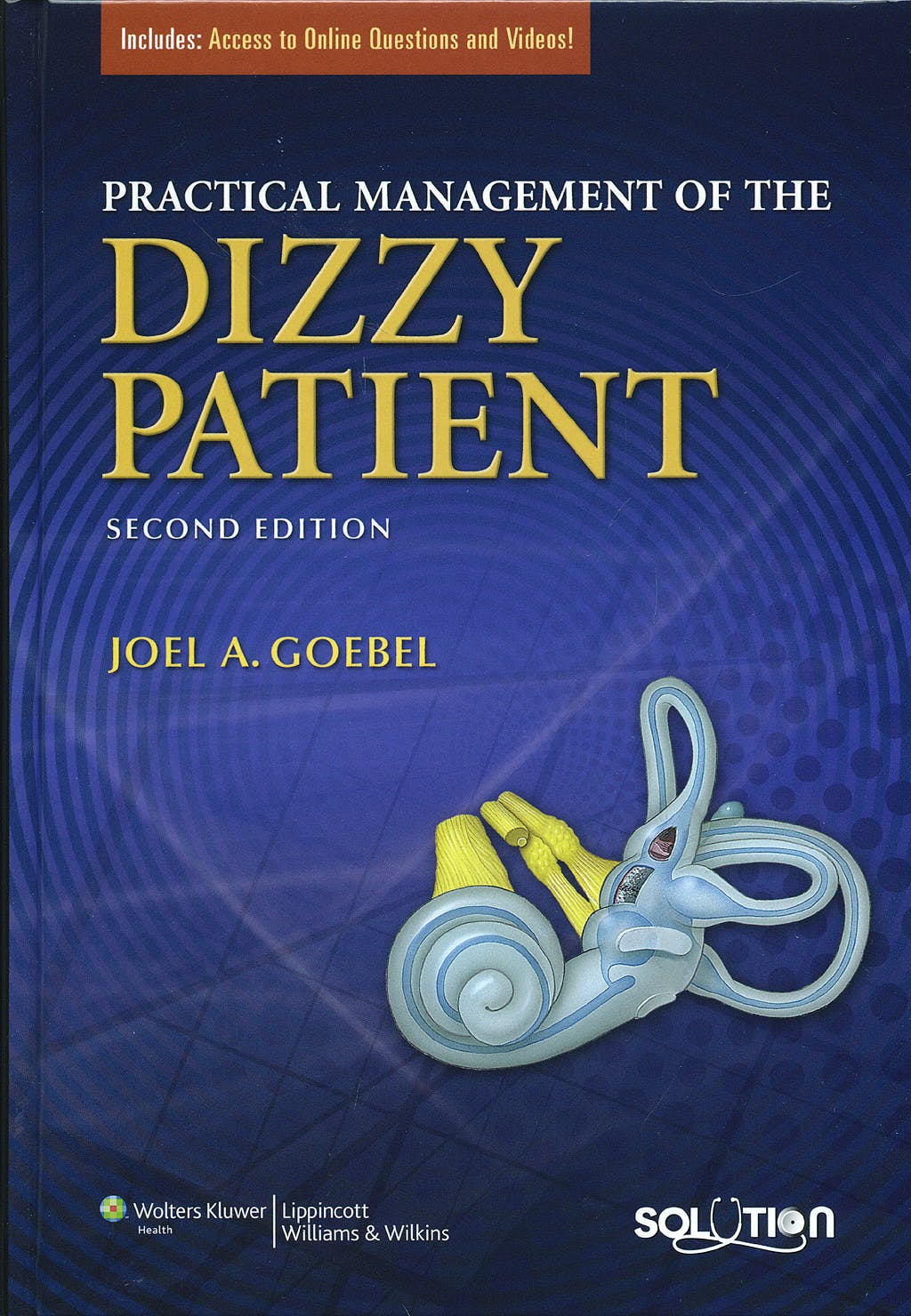 Portada del libro 9780781765626 Practical Management of the Dizzy Patient