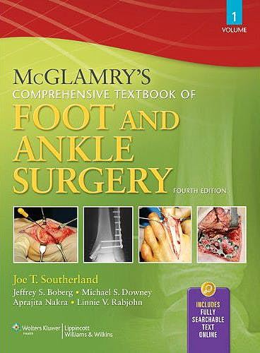 Portada del libro 9780781765800 McGlamry's Comprehensive Textbook of Foot and Ankle Surgery, 2 Vols. (Online and Print)