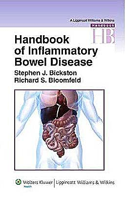 Portada del libro 9780781766302 Handbook of Inflammatory Bowel Disease