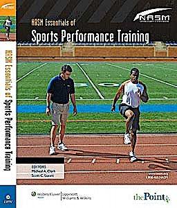 Portada del libro 9780781768030 Nasm Essentials of Sports Performance Training