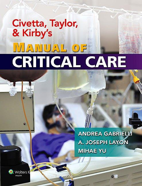 Portada del libro 9780781769150 Civetta, Taylor, and Kirby's Manual of Critical Care
