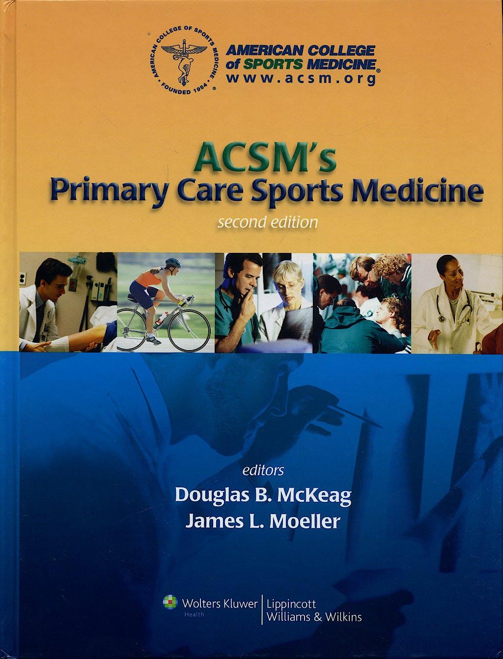 Portada del libro 9780781770286 ACSM's Primary Care Sports Medicine