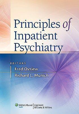 Portada del libro 9780781772143 Principles of Inpatient Psychiatry