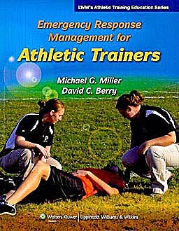 Portada del libro 9780781775502 Emergency Response Management for Athletic Trainers