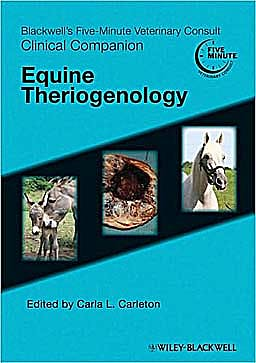 Portada del libro 9780781776707 Blackwell's Five-Minute Veterinary Consult Clinical Companion: Equine Theriogenology
