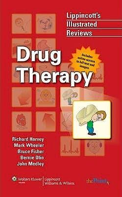 Portada del libro 9780781779470 Drug Therapy (Lippincott´s Illustrated Reviews)