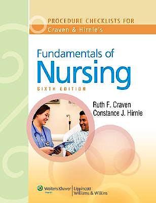 Portada del libro 9780781780247 Procedure Checklists to Accompany Craven and Hirnle's Fundamentals