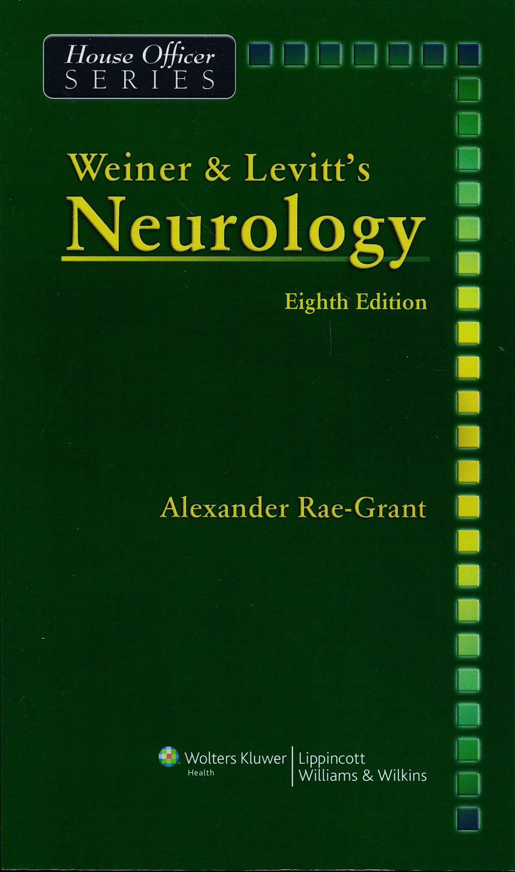 Portada del libro 9780781781541 Weiner and Levitt's Neurology