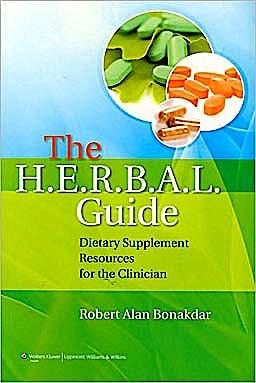 Portada del libro 9780781782685 The h.e.r.b.a.l. Guide. Dietary Supplement Resources for the Clinician