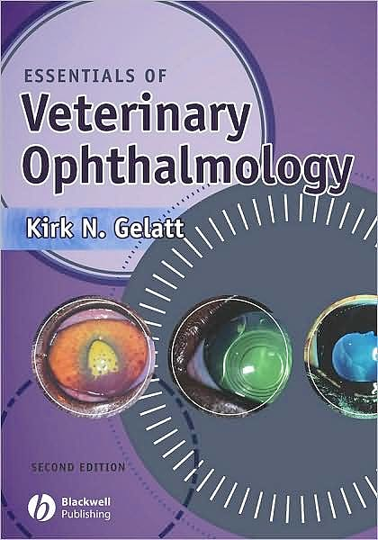 Portada del libro 9780781785594 Essentials of Veterinary Ophthalmology