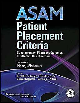 Portada del libro 9780781791229 Patient Placement Criteria: Alcohol Dependency (Asam)