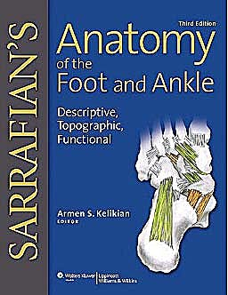 Portada del libro 9780781797504 SARRAFIAN'S Anatomy of the Foot and Ankle. Descriptive, Topographic, Functional