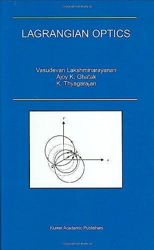 Portada del libro 9780792375821 Lagrangian Optics