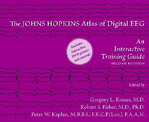 Portada del libro 9780801897337 The Johns Hopkins Atlas of Digital EEG. An Interactive Training Guide + DVD