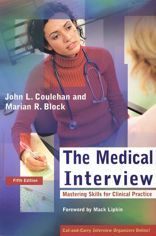 Portada del libro 9780803612464 The Medical Interview. Mastering Skills for Clinical Practice