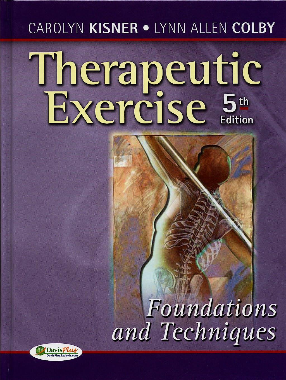 Portada del libro 9780803615847 Therapeutic Exercise
